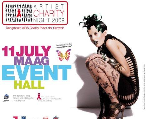 artists charity night