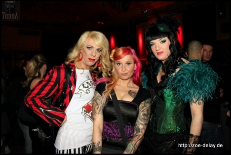 punk clothing - burlesque clothing