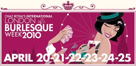 london burlesque week