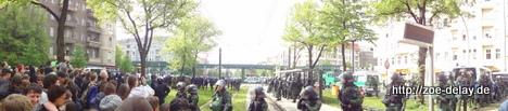 Polizei Berlin 1. Mai