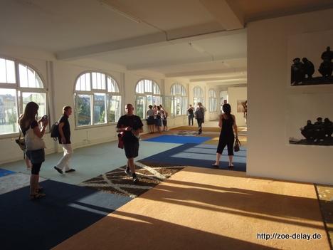 eröffnung Berlin biennale
