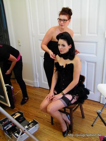 burlesque Haare