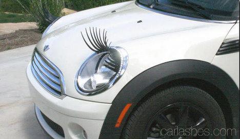 falsche Wimpern Auto