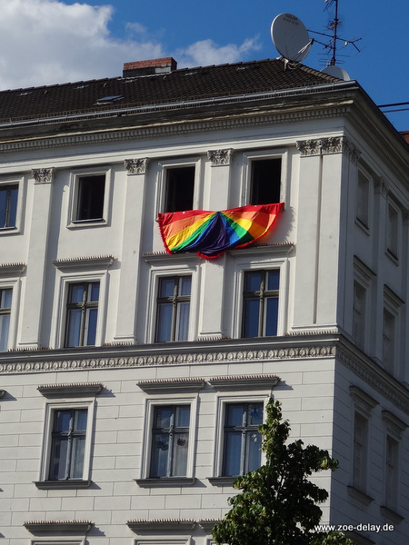 TSCD Berlin rainbow flag