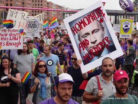 wladimir putin homophobie