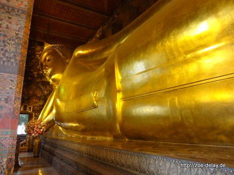 der liegende Buddha in Wat Pho