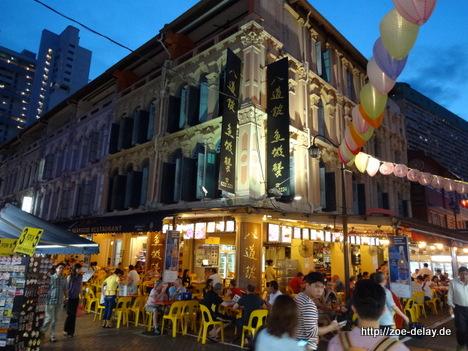 singapur china town