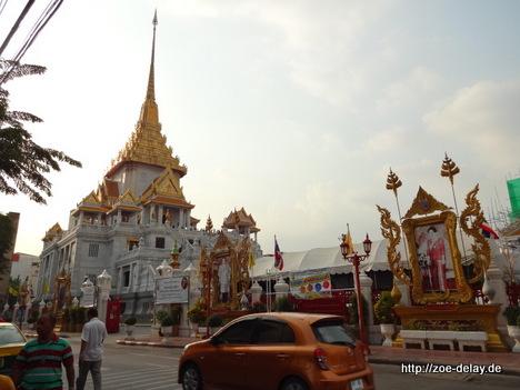 wat tramit goldener buddha