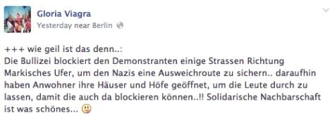 npd demonstration berlin