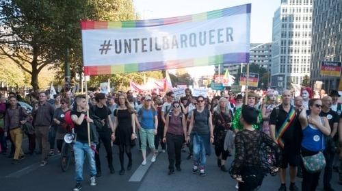 #unteilbar Demo – Berlin